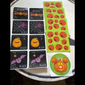 Lot of assorted Halloween stickers